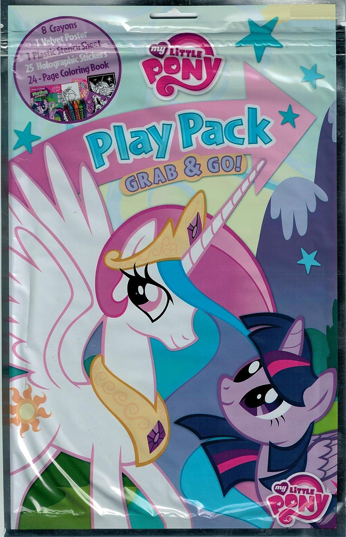 Bendon Grab & Go Play Pack XL Negro alfonbrilla para ratón, My Little Pony: Amazon.es: Juguetes y juegos