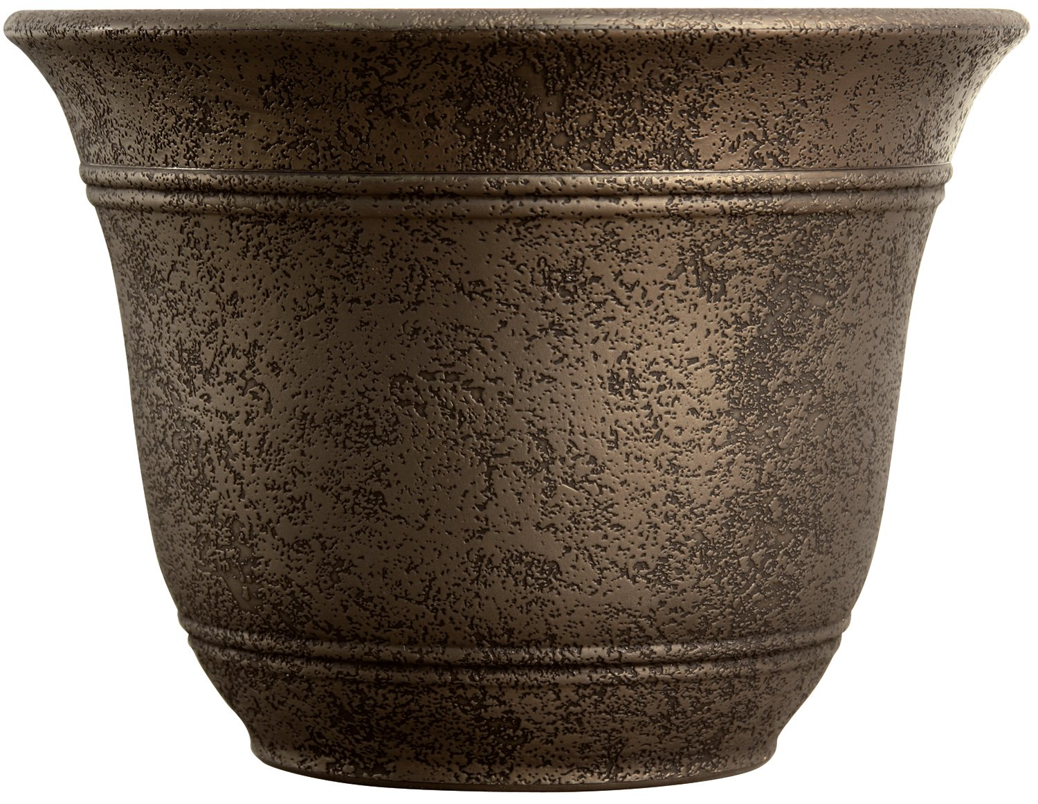 try extra large planters for outside for a classy cold season