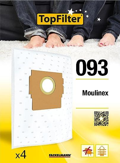 Pour adapter Moulinex POWERCLASS pour Aspirateur Poussière Papier Sac 5 Pack