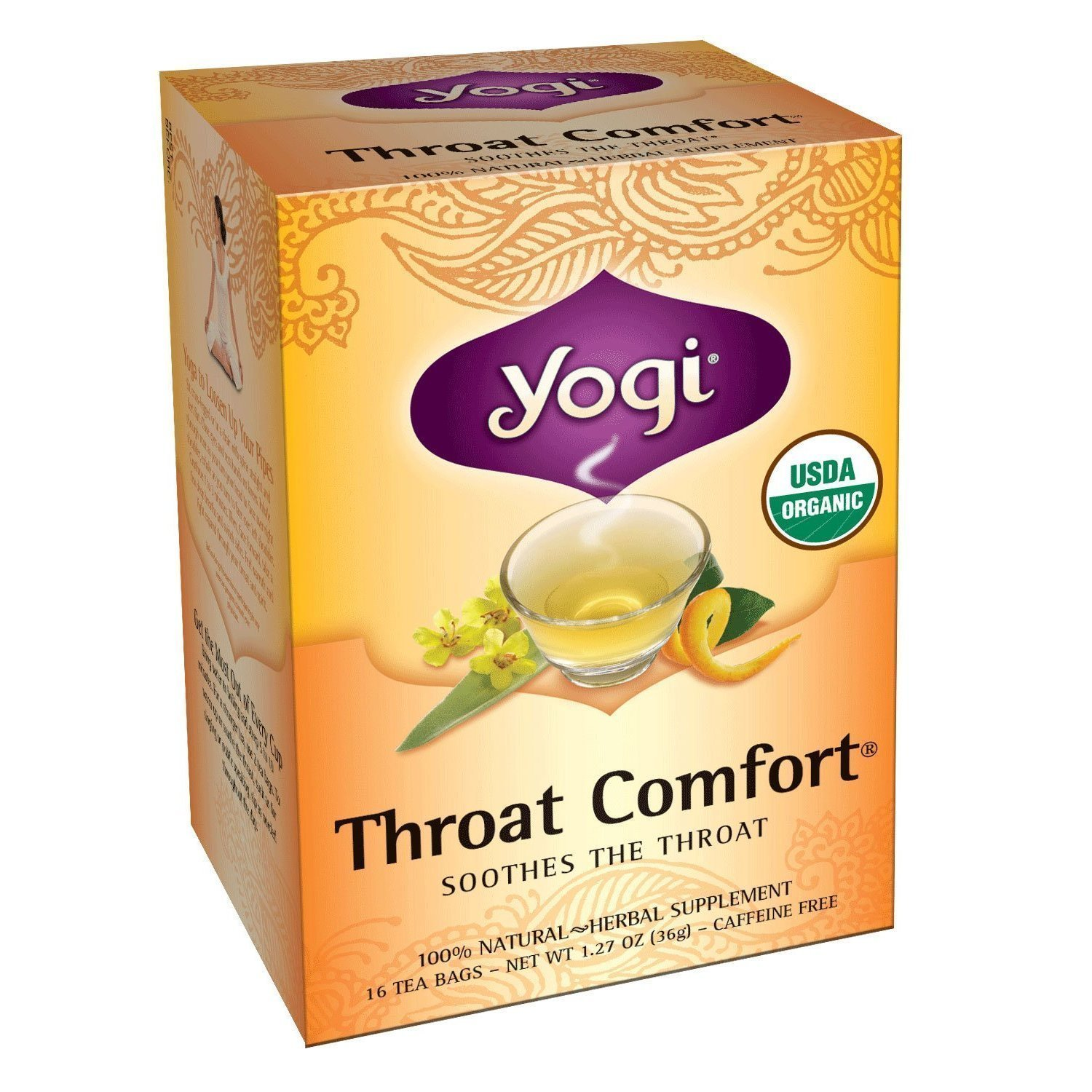 Yogi Throat Comfort Tea (3x16 bag)