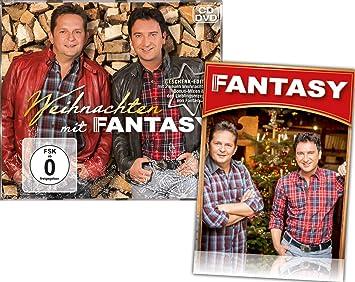 Weihnachten Mit Fantasy.Weihnachten Mit Fantasy Cd Dvd Geschenk Edition Mit 2 Bonustitel Gratis Fanaufkleber