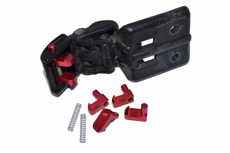 Aluminum Geo Tracker/Suzuki Sidekick Soft Top Roof Latch Rebuild Kit (with springs) BlendDoor