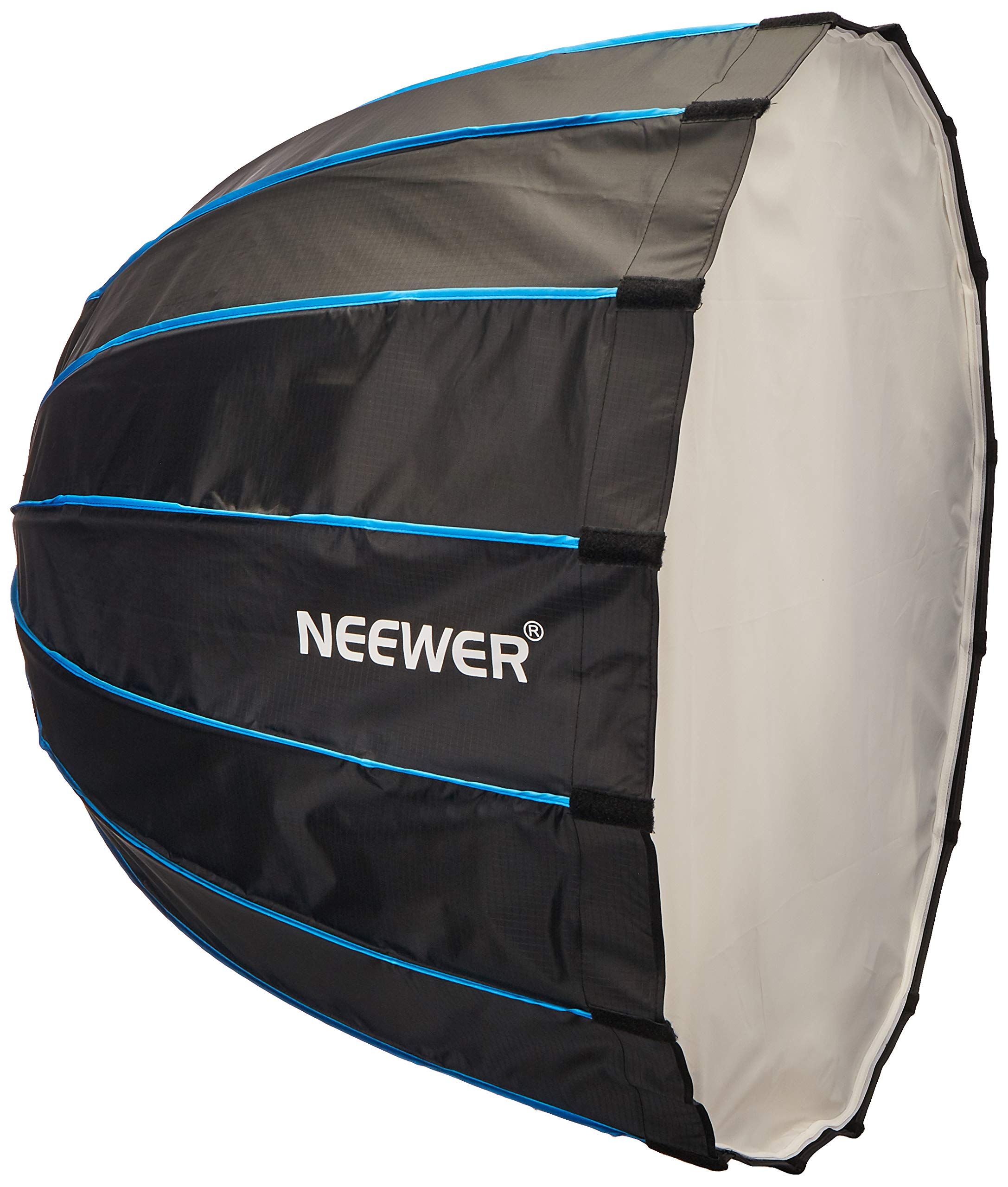 Neewer Hexadecagon Softbox 36 inches/90 Centimeters with Blue Rim and Bowens Mount, Portable and Quick Folding Softbox Diffuser for Photography Speedlites Flash Monolight and More by Neewer