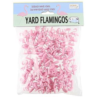 Yard Flamingo Miniatures: Toys & Games