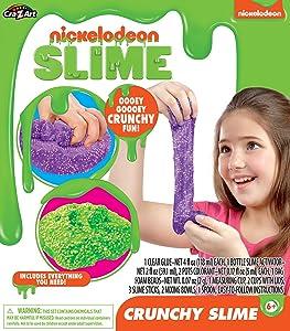Cra-Z-Art Nickelodeon Crunchy Slime Kit, Brown/a (18871)