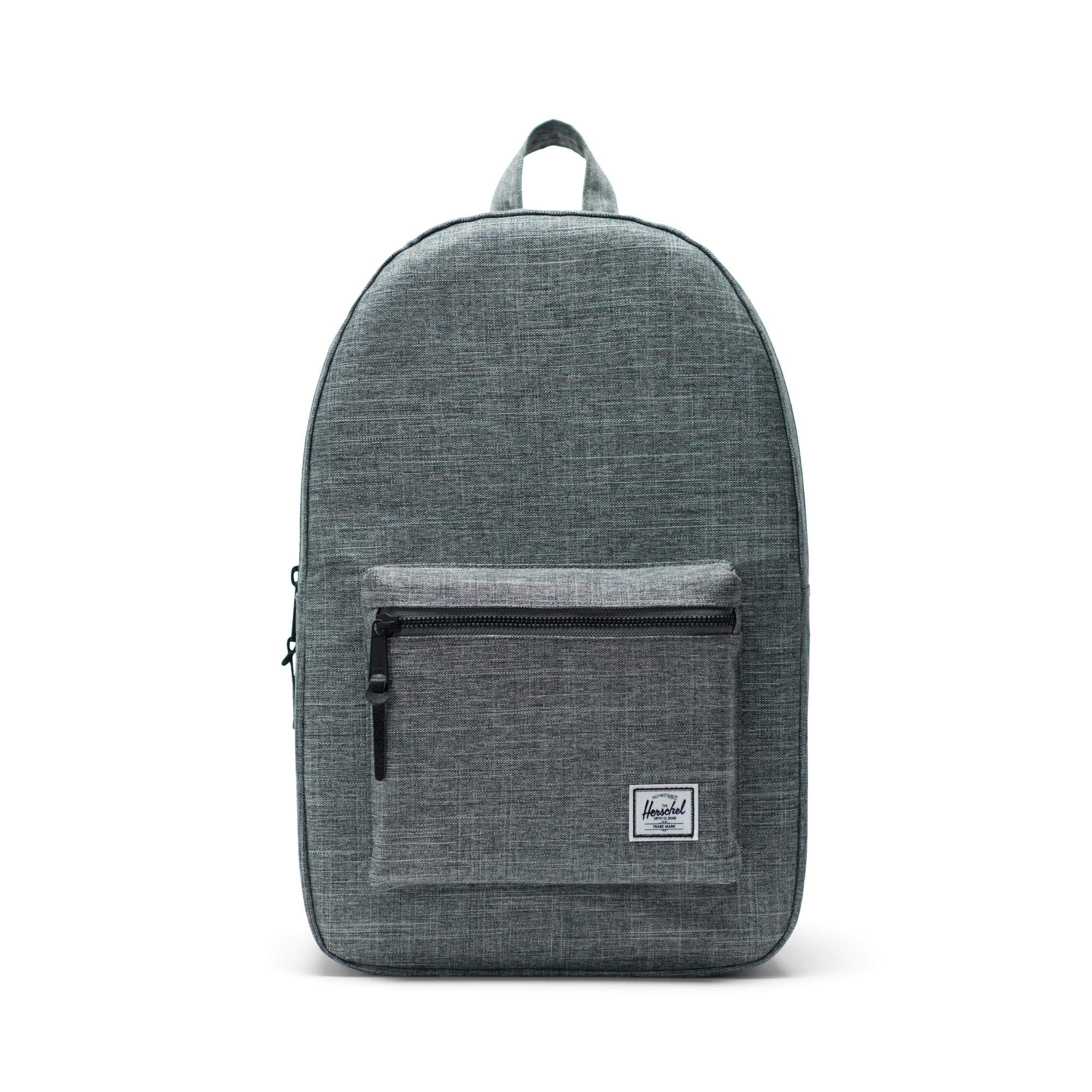 Herschel Settlement Backpack-Raven Crosshatch