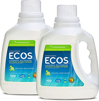2-Pack Earth Friendly Products ECOS Liquid Laundry Detergent