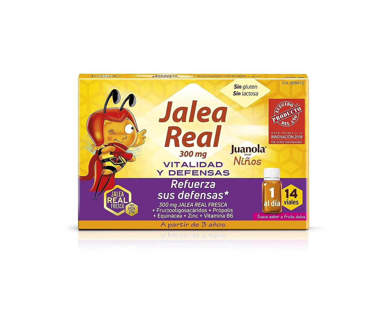 Juanola - Jalea Real para Niños, 14 Viales: Amazon.es: Salud y ...