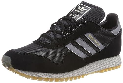 ADIDAS New York Sneaker da Uomo Uomo Scarpe da ginnastica Scarpe Nero cq2212