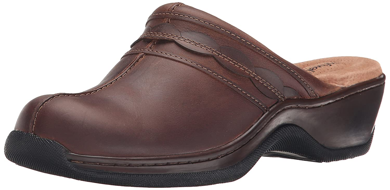 SoftWalk Women's Abby Clog B00RZYZ69Y 9 N US|Dark Brown Oil