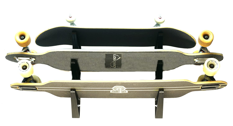 Amazon.com : Longboard Wall Rack - Triple Longboard Storage -  StoreYourBoard : Sports & Outdoors