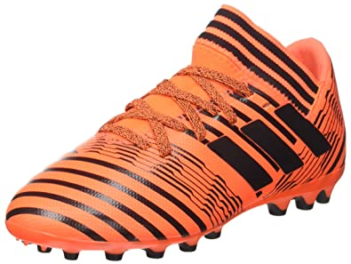 detailed look 8a2ba d69e0 adidas Nemeziz 17.3 AG J, Chaussures de Football garçon, Multicolore (Solar  Orange Core