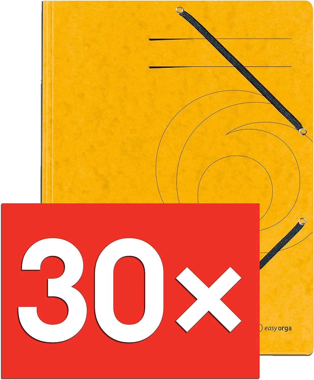 Einschlagmappe A4 Colorspan mit Gummizug fuchsia 355 g//qm 20 St/ück