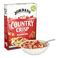 Jordans Country Crisp with Sun-Ripe Strawberries, 500 g