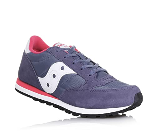 Sneakers Jazz Og Sy56444 Pelle Violapink Ragazza Saucony Lacci OEqWfpOU