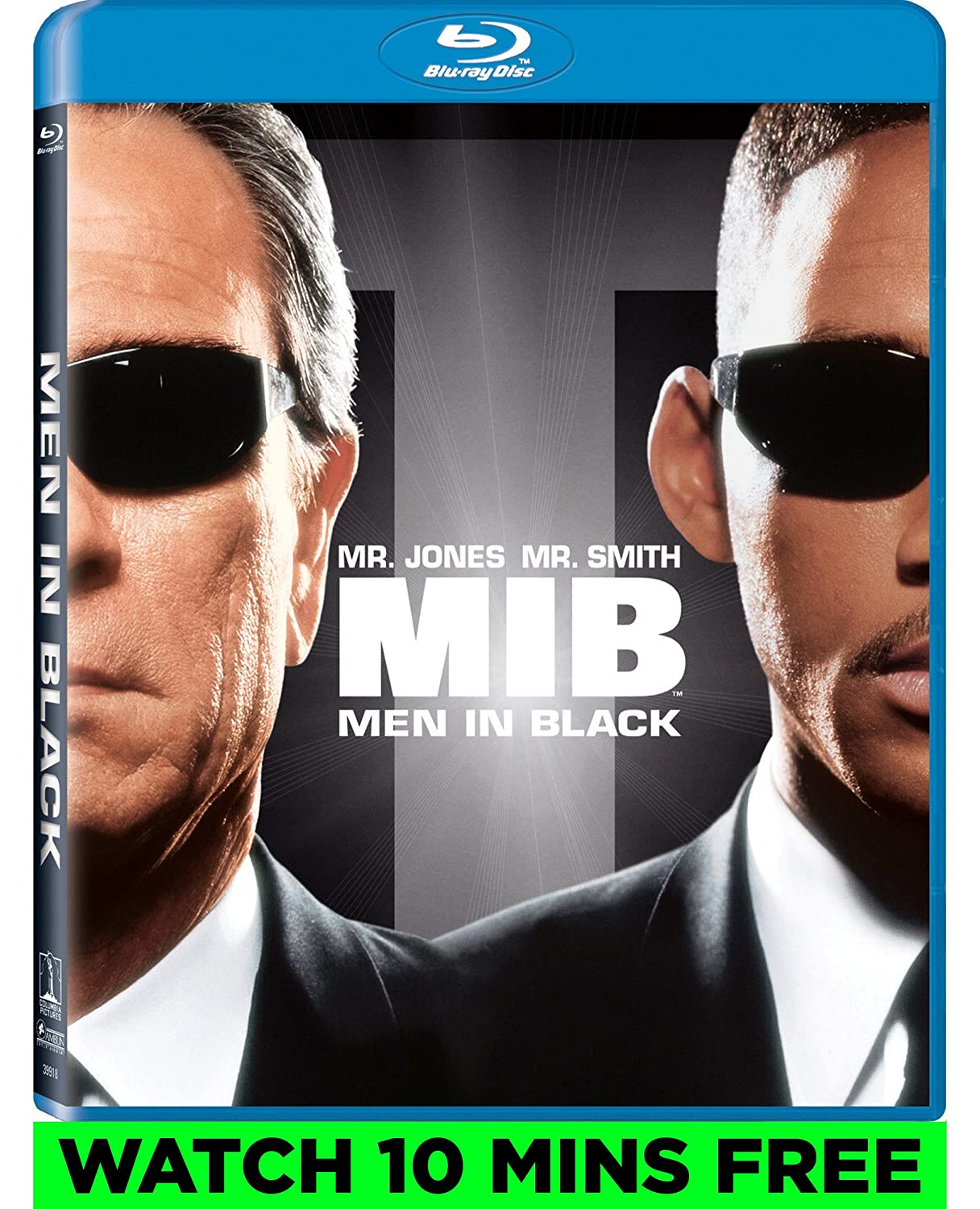 amazon com men in black ultraviolet digital copy blu ray amazon com men in black ultraviolet digital copy blu ray tommy lee jones will smith linda fiorentino vincent d onofrio rip torn
