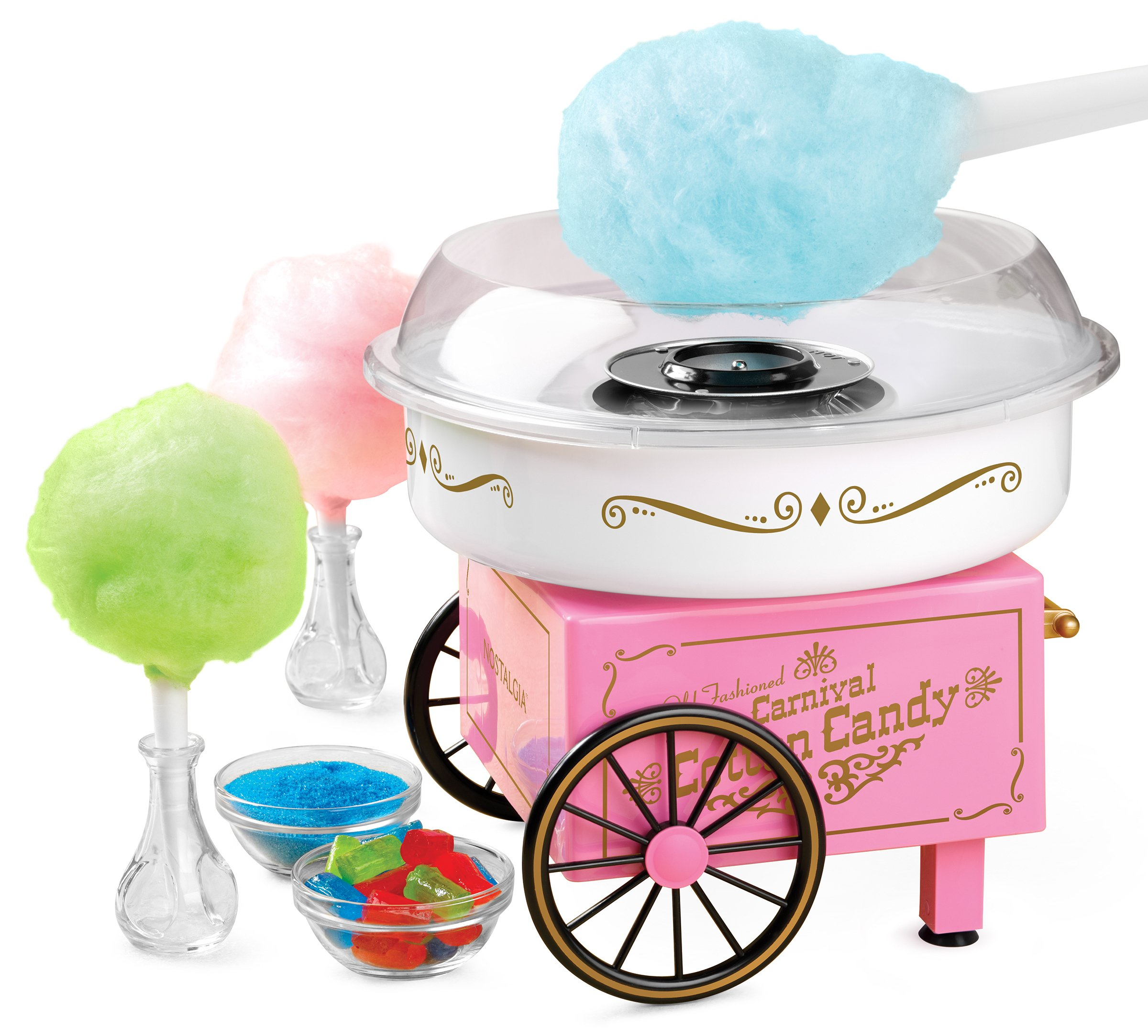 Nostalgia PCM305 Vintage Hard & Sugar-Free Candy Cotton Candy Maker by Nostalgia (Image #2)