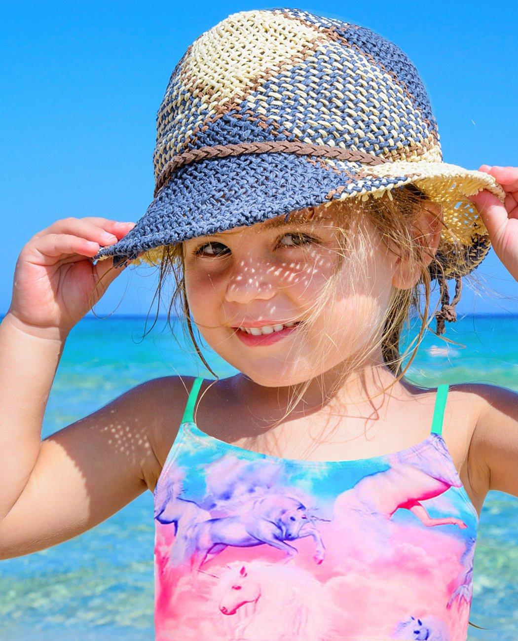 iDrawl Girls Two Piece Swimwear, Racerback Beach Swimming Bathing Suits by iDrawl (Image #3)