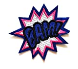 Nipitshop Patches Application BAM! Cartoon Patch