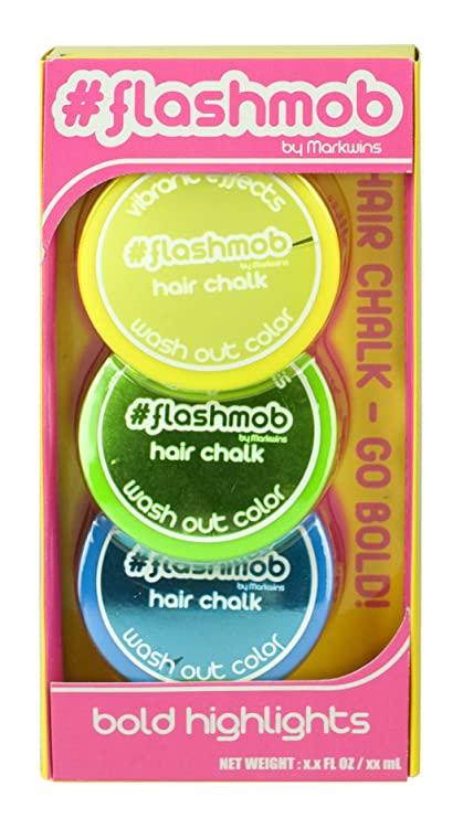 Flashmob Live Wired Chilled Hair Chalk Highlights Chilled Amazon