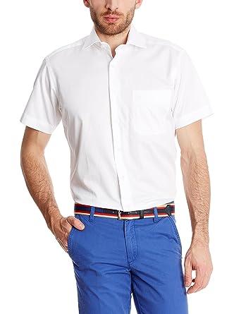 Macson Camisa Hombre Blanco L: Amazon.es: Ropa y accesorios