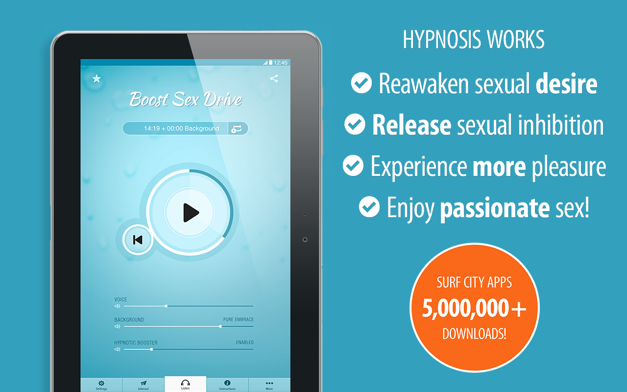 Boost Sex Drive Hypnosis - Increase Libido, Sexual Pleasure & Relationship Intimacy (for Women and Men)