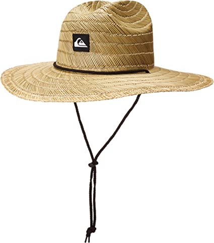 Quiksilver Men's Pierside Lifeguard Beach Sun Straw Hat