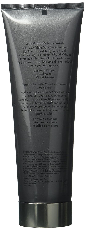 Victorias Secret Very Sexy Platinum for Him 2-in1 Hair Body Wash 250ml 8.4fl.oz.