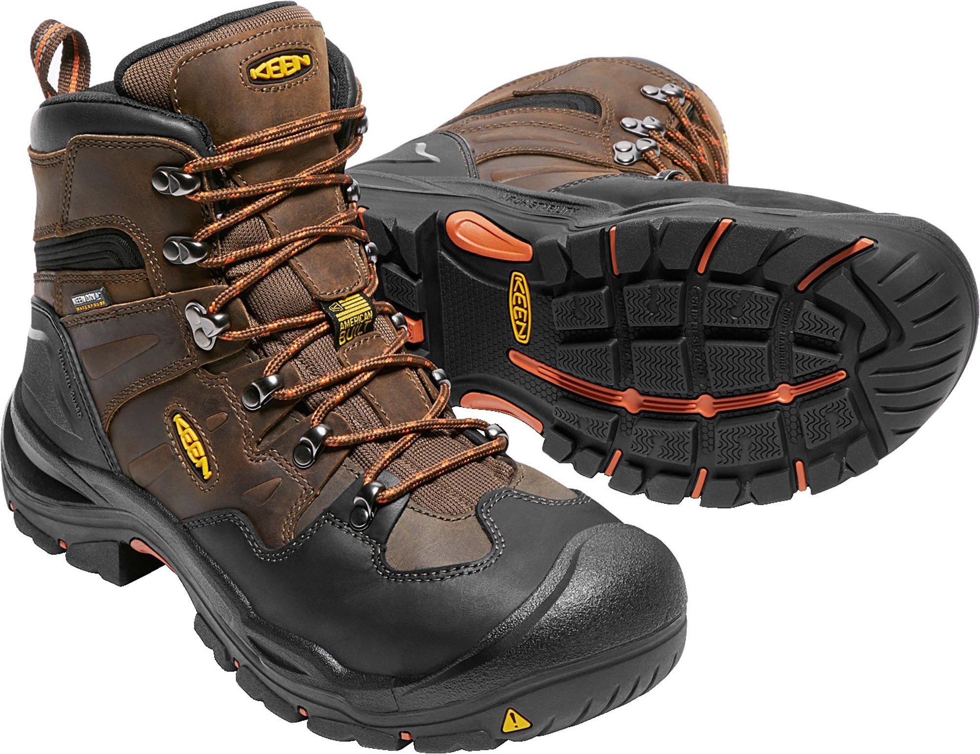 KEEN Utility Coburg 6'' WP (Steel Toe), Men's Work Boot, Cascade Brown/Brindle, 8 EE by KEEN Utility (Image #3)