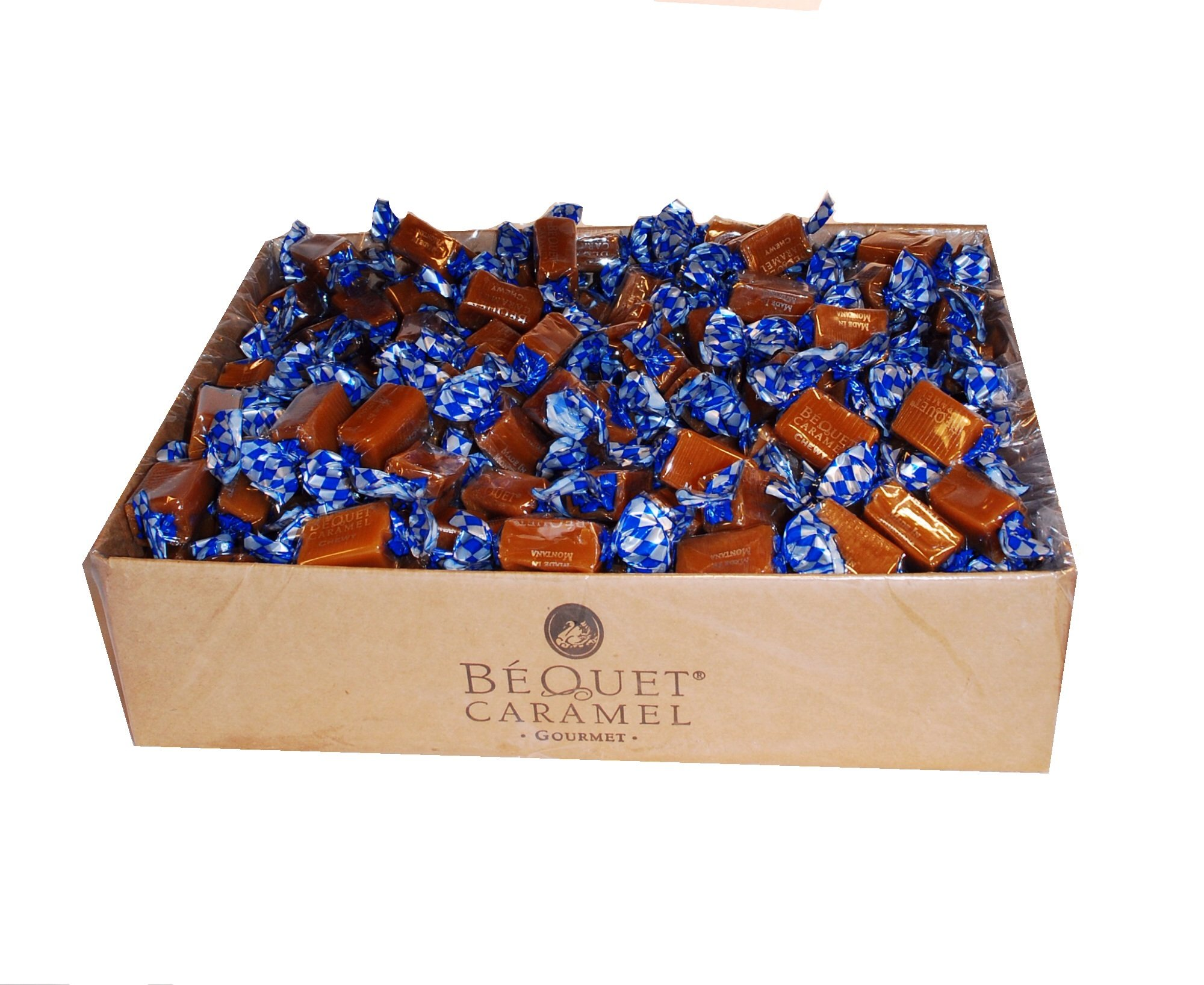 Bequet Caramels Chewy Vanilla 5lb bag by Bequet