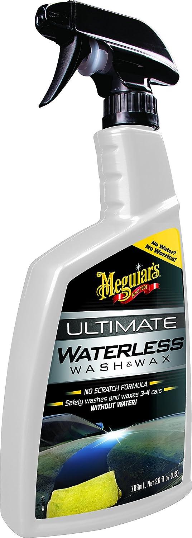 Meguiar S G3626eu Ultimate Waterless Wash Wax Trockenwäsche 768ml Auto
