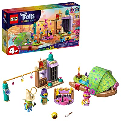 LEGO Trolls World Tour Lonesome Flats Raft Adventure 41253 Kids Building Kit , Great Trolls Gift for Creative Kids, New 2020 (159 Pieces): Toys & Games