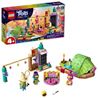 LEGO Trolls World Tour Lonesome Flats Raft Adventure 41253 Kids Building Kit , Great...
