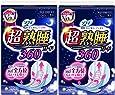 【まとめ買い】ソフィ 超熟睡ガード 360 特に多い日の夜用 羽つき 36cm 12コ入×2個パック(unicharm Sofy)