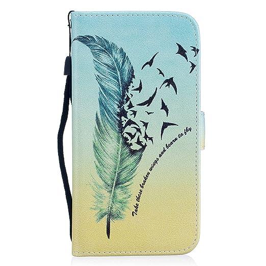 2 opinioni per Honor 6X Custodia, ocketcase® Antiurto Portafoglio Flip Pelle PU Case Cover