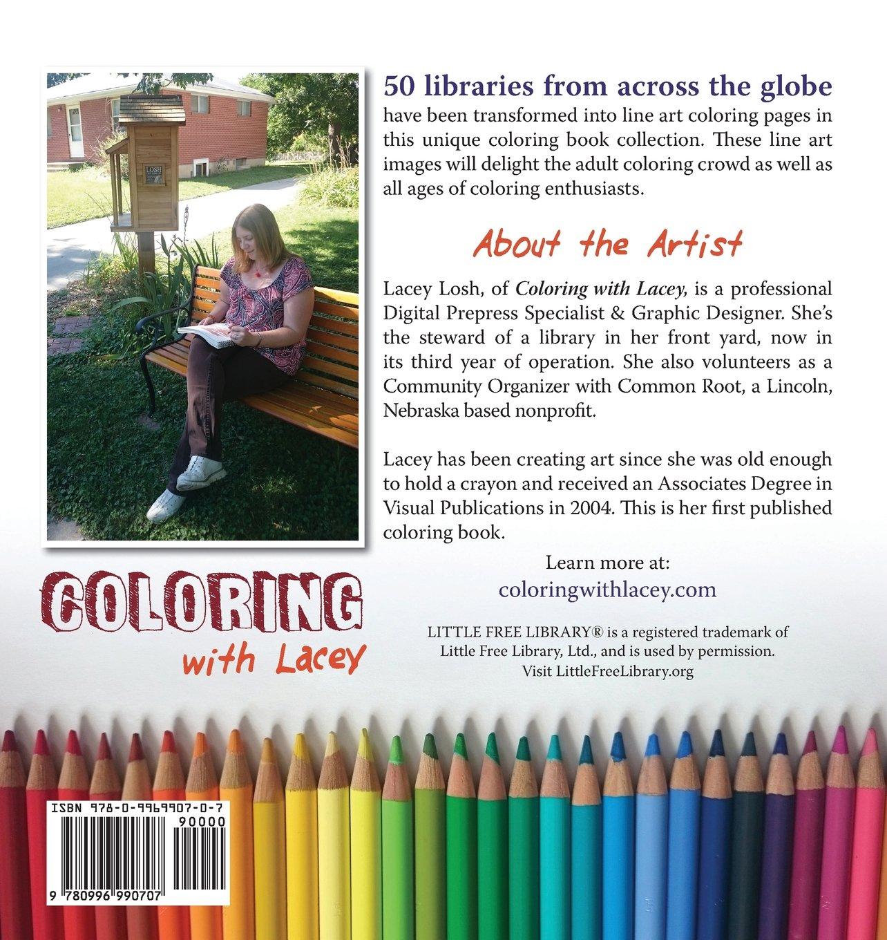 amazon com libraries around the world coloring book