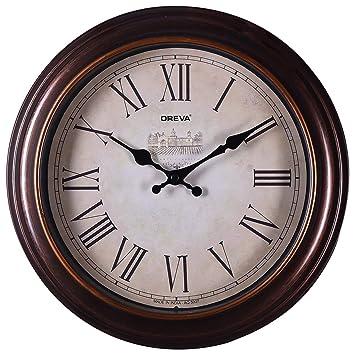 Buy Ajanta Quartz Limited Edition Round Plastic Wall Clock 28 cm
