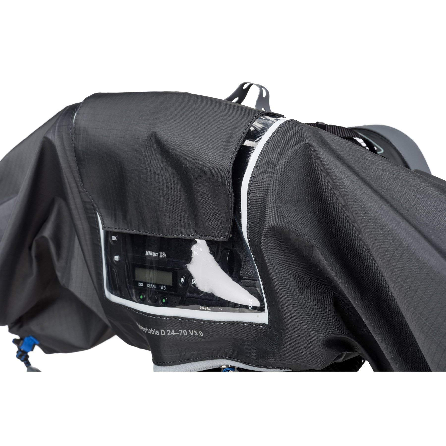 Think Tank Photo Hydrophobia D 24-70 V3 Camera Rain Cover for DSLR Camera with 24-70mm f/2.8 Lens by Think Tank (Image #4)