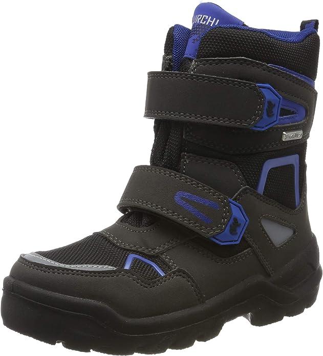 Lurchi Boys' Kaspar-Sympatex Snow Boots, (Black Cobalt 31), 11.5 UK,Lurchi,3331032