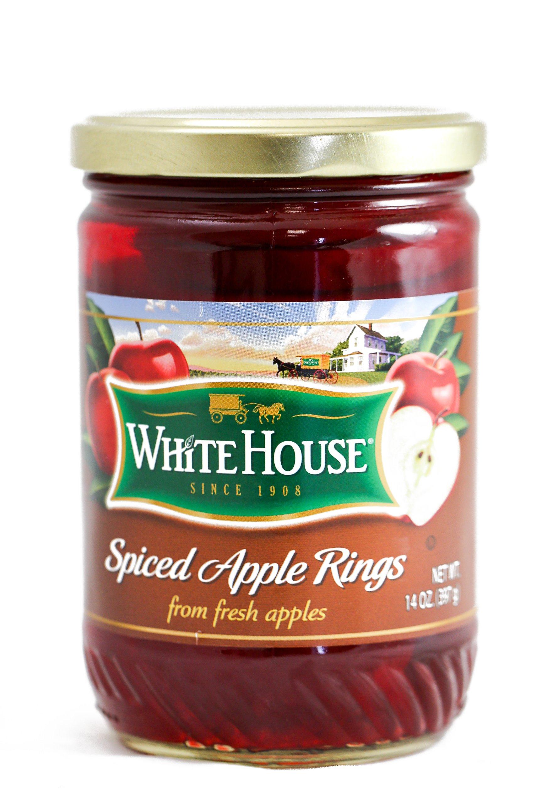 White House Spiced Apple Rings 14 oz