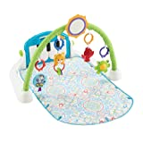 Amazon Price History for:Fisher-Price First Steps Kick and Play Piano Gym, White