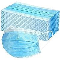 MaNMaNing Protección 3 Capas Transpirables con Elástico para Los Oídos Pack 100 unidades 20200710-MANING-A100
