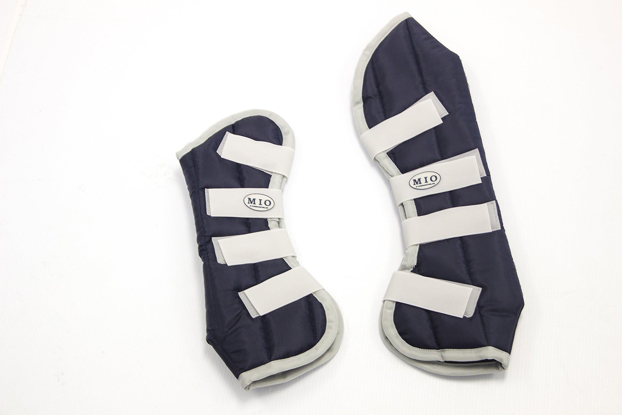 Horseware Mio Travel Boots Navy Cob