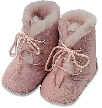 AM artmoda Hausstiefel Lammfell, Baby und Kind, Schuhgröße 21