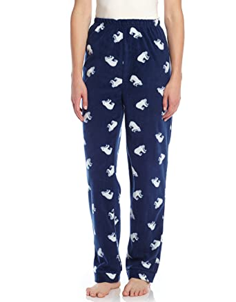 d375e0241 Leveret Women s Pajamas Pants Fleece Lounge Sleep Pj Bottoms (Size ...