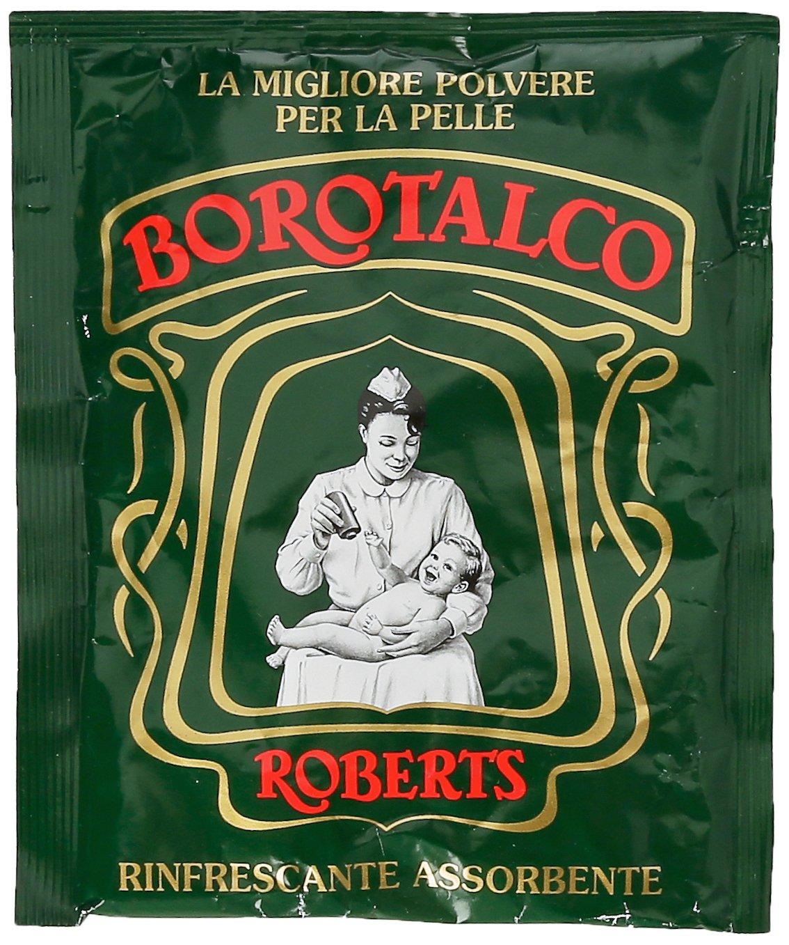 Borotalco Talc Powder - 100g Refill Pouch Manetti & Roberts
