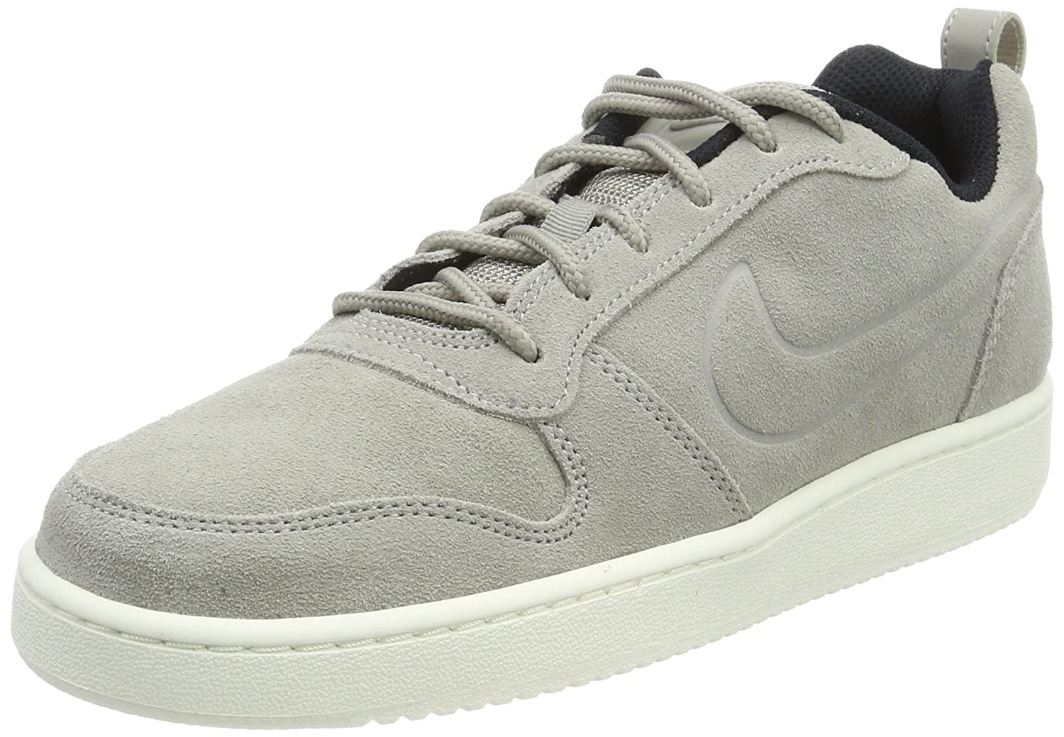Nike Herren Court Borough Low Premium Sneaker  43 EU|Grau (Cobblestone/Cobblestone-black)