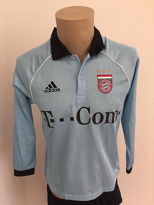 adidas Camiseta Bayern Múnich Portero Celeste: Amazon.es: Deportes ...