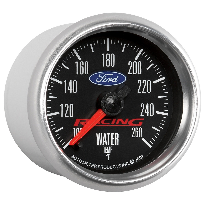 Auto Meter 880086 Ford Racing Series Electric Water Temperature Gauge