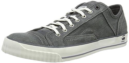 G-Star Raw FALTON WASHED LO - Zapatillas Hombre, Gris (plaster-575), 45: Amazon.es: Zapatos y complementos